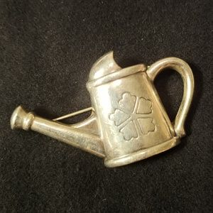 James Avery Sterling Silver Watering Can Pin
